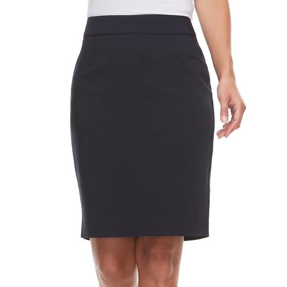 Apt. 9 Dresses & Skirts - Apt 9 Tori's Navy Pencil Skirt 16